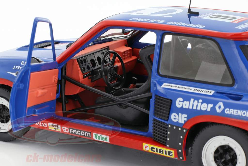 Renault R5 Turbo Gr. B #16 Tour de Corse 1984 Saby, Fauchille 1:18 Solido