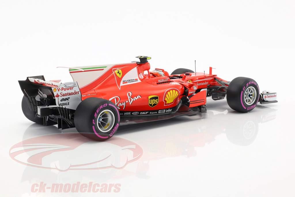 Kimi Räikkönen Ferrari SF70H #7 Australien GP formel 1 2017 1:18 BBR