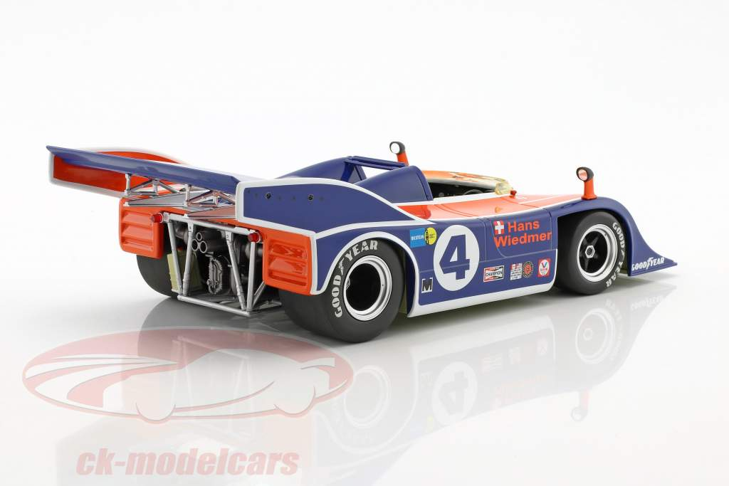 Porsche 917/10 #4 Can-Am Watkins Glen 1973 Wiedmer 1:18 Minichamps