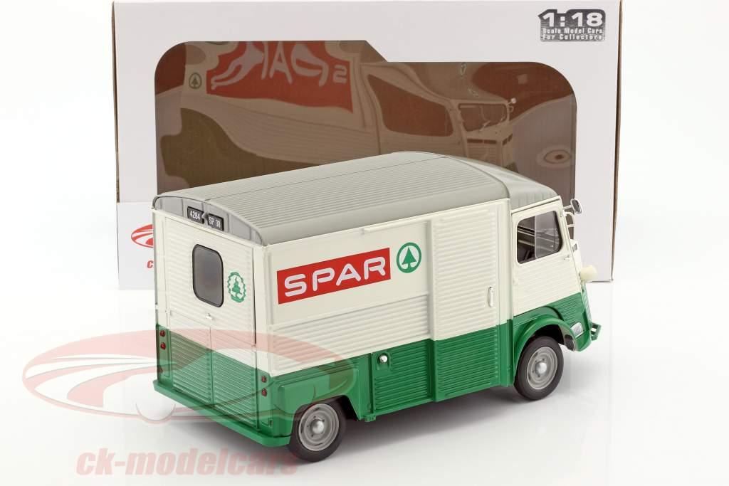 Citroen Type HY Spar año de construcción 1969 verde / blanco / rojo 1:18 Solido