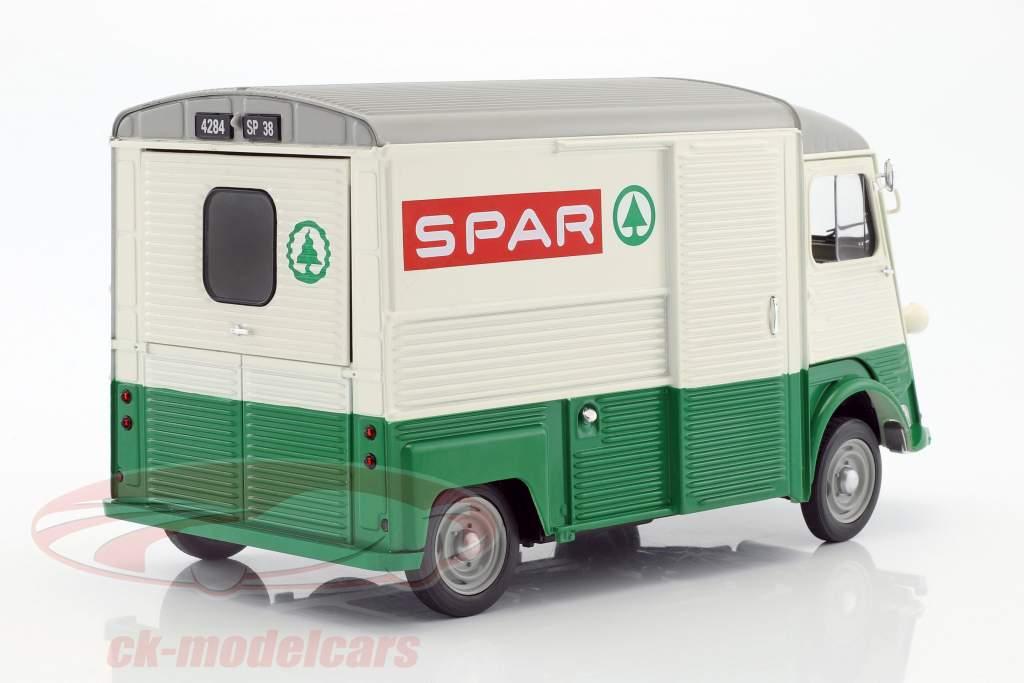 Citroen Type HY Spar année de construction 1969 vert / blanc / rouge 1:18 Solido