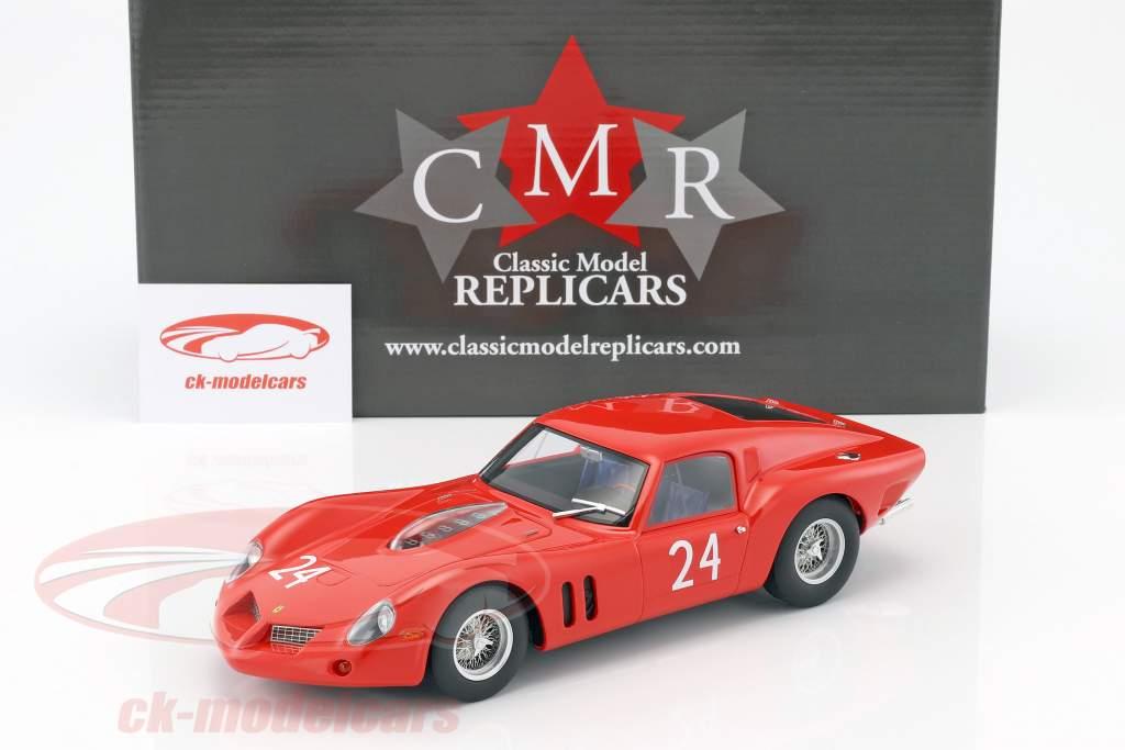 Ferrari 250 GT Drogo #24 24h LeMans prueba 1963 1:18 CMR