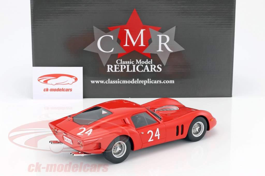 Ferrari 250 GT Drogo #24 24h LeMans Test 1963 1:18 CMR