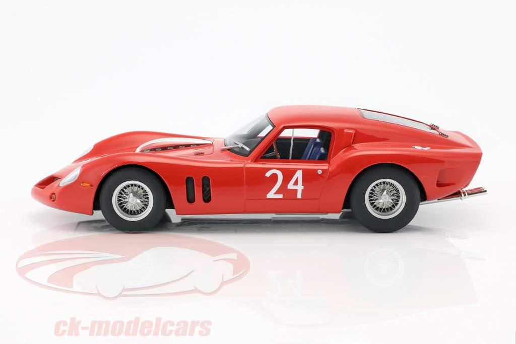 Ferrari 250 GT Drogo #24 24h LeMans prøve 1963 1:18 CMR