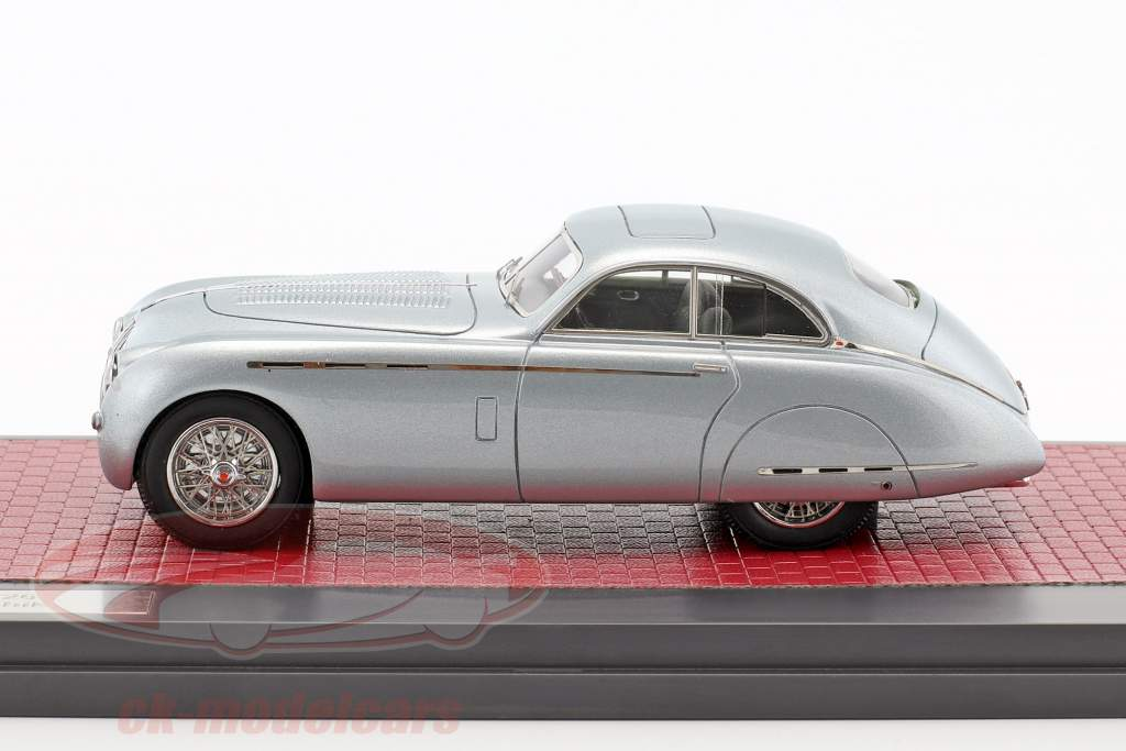 Talbot Lago T26 Grand Sport Saoutchik year 1950 blue gray metallic 1:43 Matrix