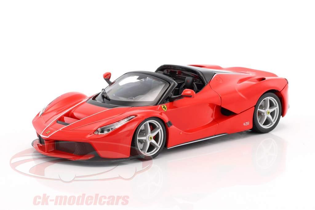 Ferrari LaFerrari Aperta 70th Anniversary Collection rouge 1:24 Bburago