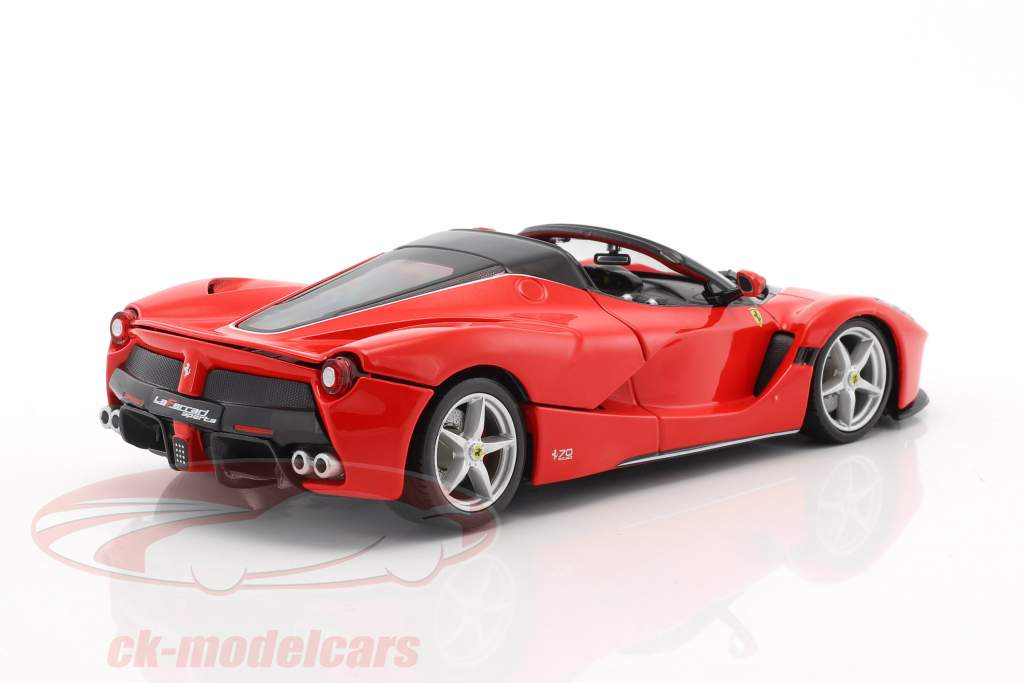 Ferrari LaFerrari Aperta 70th Anniversary Collection rosso 1:24 Bburago
