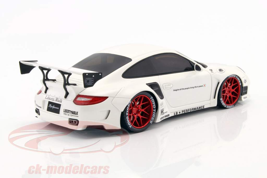 Porsche 911 997 Lb Performance Year 2010 White 1 18 Gt Spirit