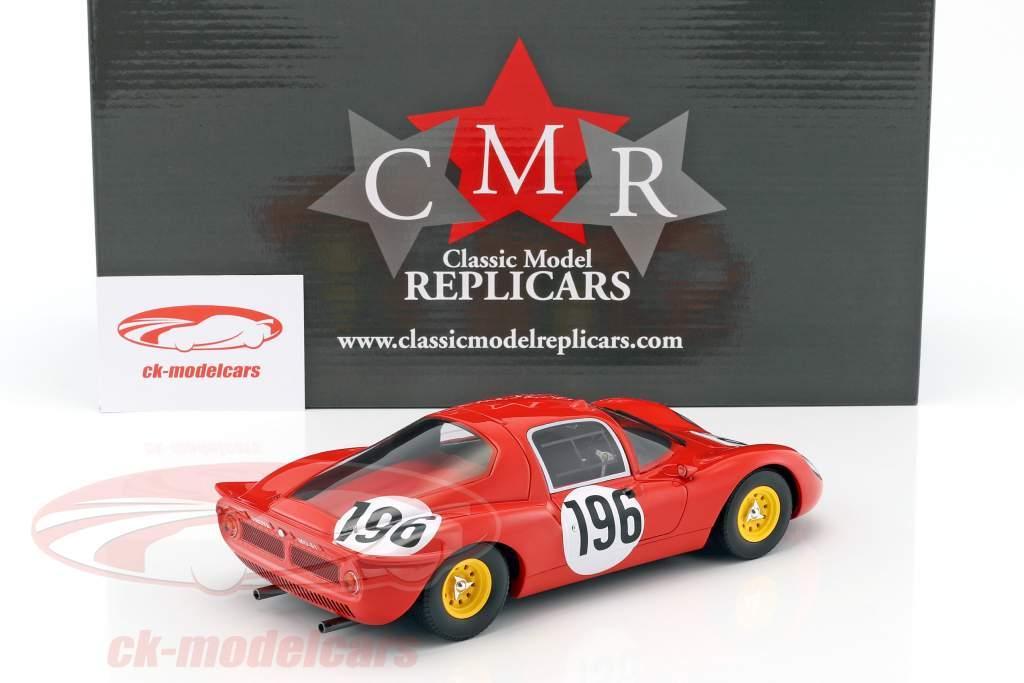 Ferrari Dino 206 S #196 2e Targa Florio 1966 Guichet, Baghetti 1:18 CMR