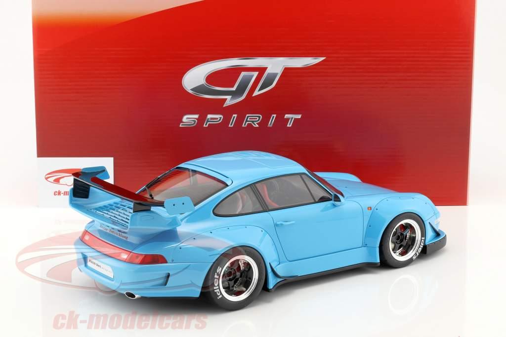 Porsche 911 (993) RWB azzurro 1:12 GT-Spirit