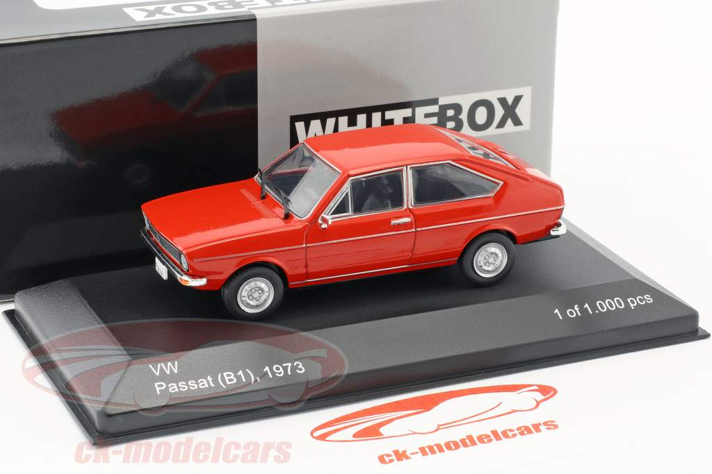 Volkswagen VW Passat B1 year 1973 red 1:43 WhiteBox
