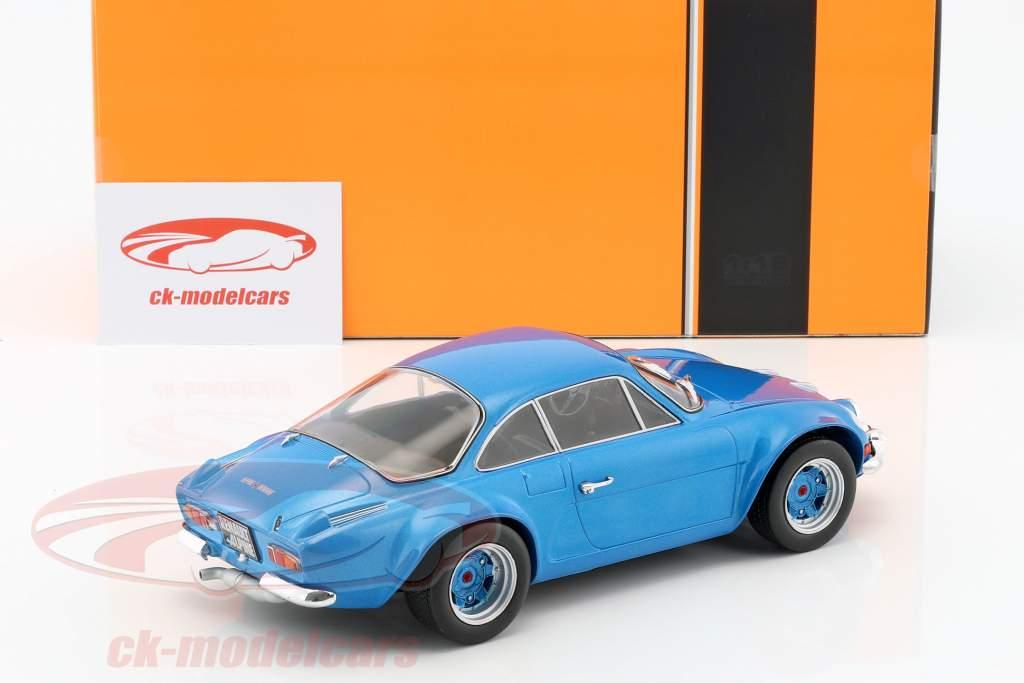 Renault Alpine A 110 année de construction 1973 bleu 1:18 Ixo