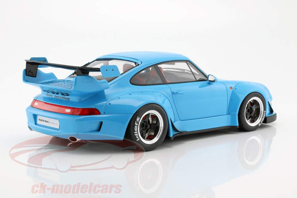 Porsche 911 (993) RWB light blue 1:12 GT-Spirit