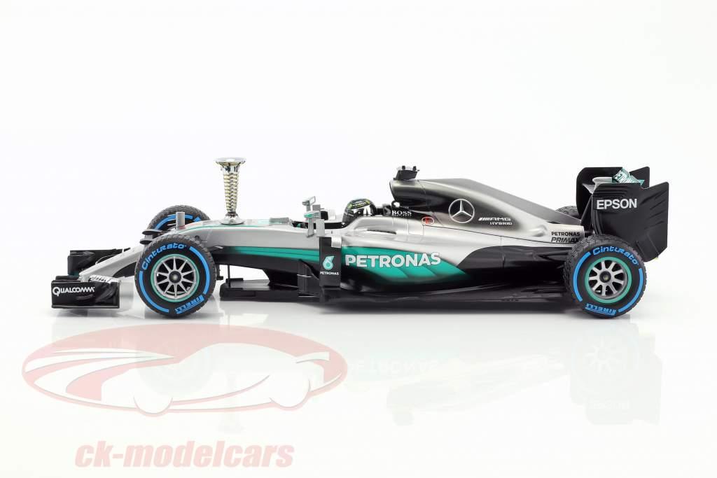 Nico Rosberg Mercedes F1 W07 Hybrid #6 Sindelfingen Demo Run world champion F1 2016 1:18 Minichamps