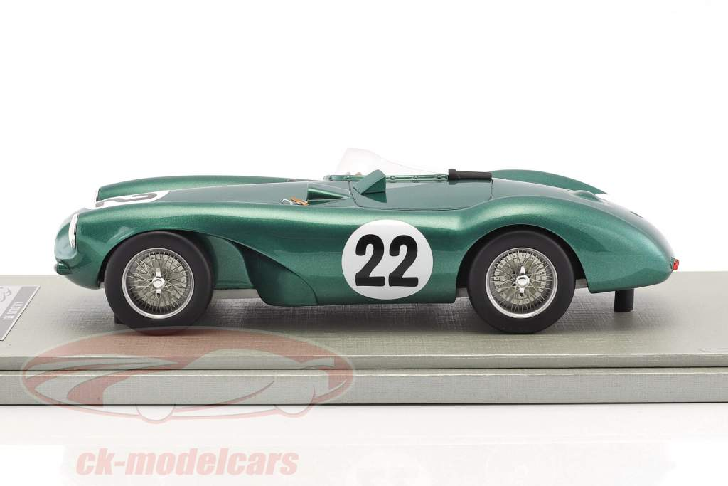 Aston Martin DB3 S #22 gagnant GP Spa 1955 Paul Frere 1:18 Tecnomodel