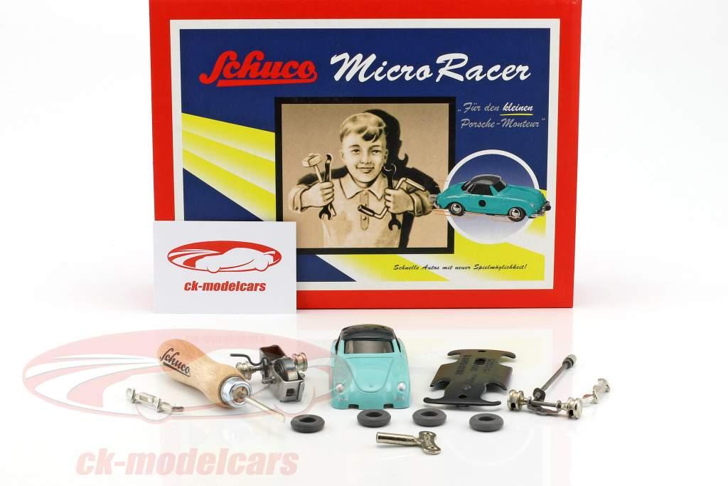 Micro Racer Porsche 356 coupe assembly case Schuco