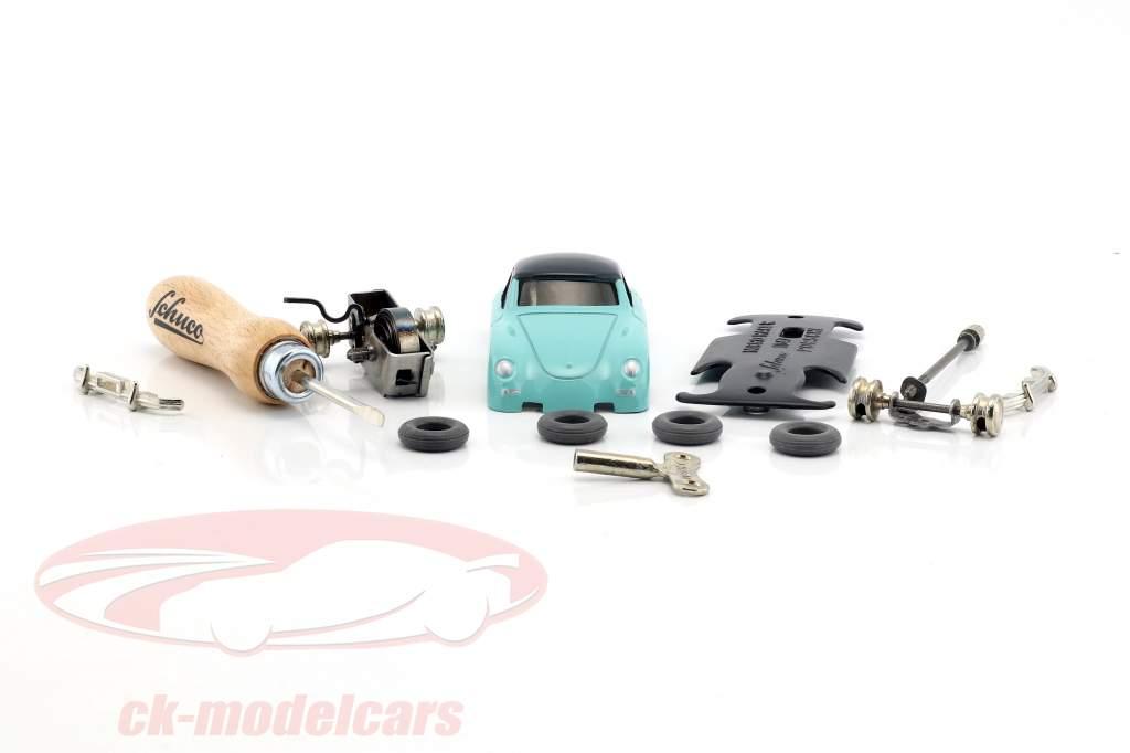 Micro Racer Porsche 356 Coupe Montagekasten Schuco