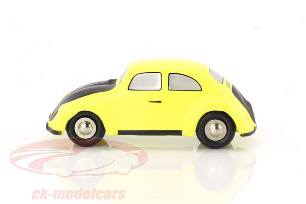 Volkswagen VW scarafaggio giallo / nero 1:90 Schuco Piccolo