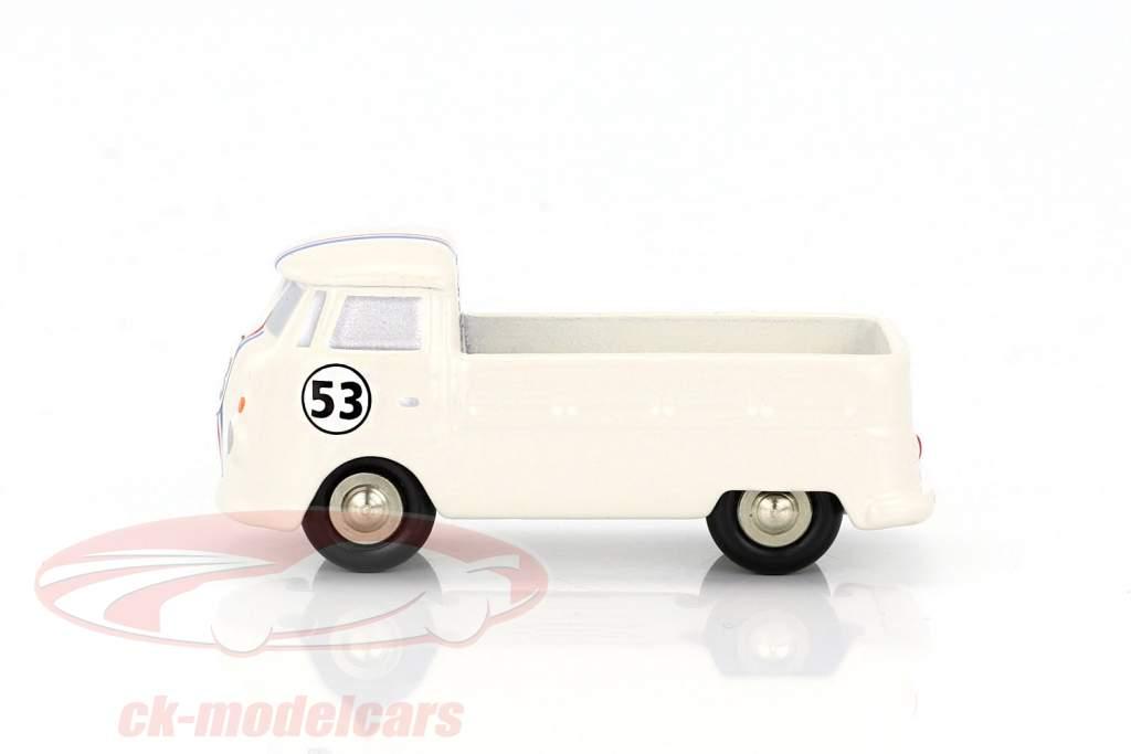 Volkswagen VW T1 camion piattaforma #53 bianco 1:90 Schuco Piccolo