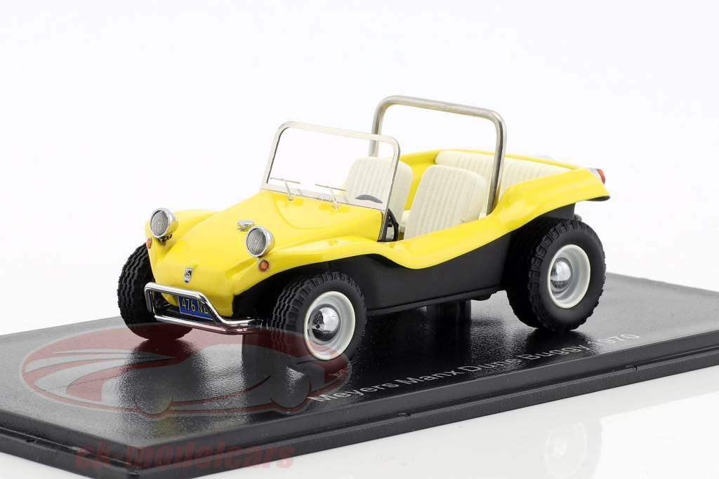 Volkswagen VW Dune Buggy Meyers Manx anno di costruzione 1970 giallo 1:43 Neo