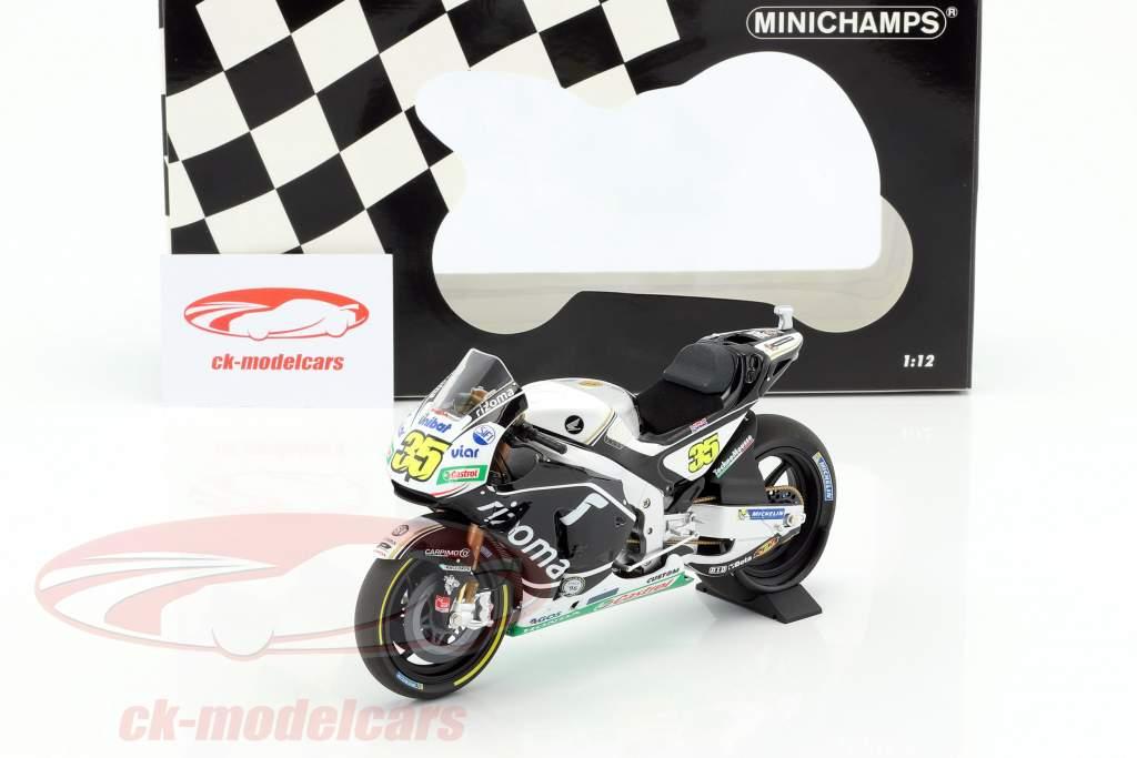 Cal Crutchlow Honda 213V #35 2nd Silverstone GP MotoGP 2016 1:12 Minichamps