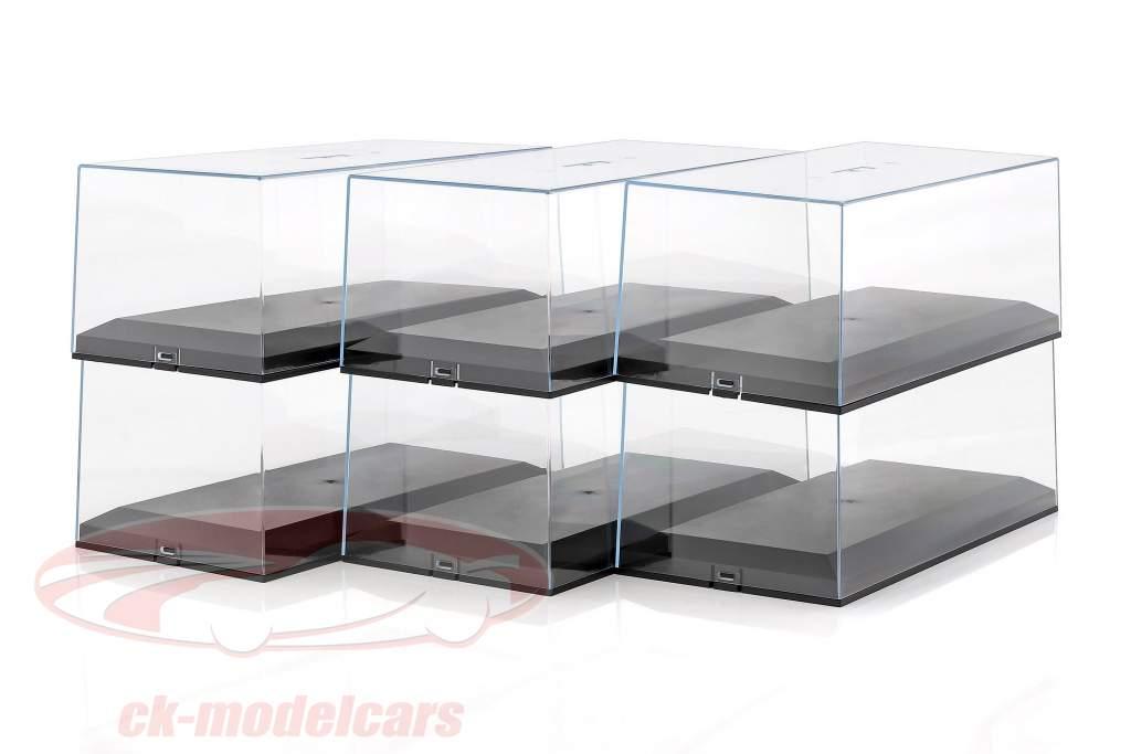 6 bottiglie Auto Exclusiv mostra casi per automodelli 1:18
