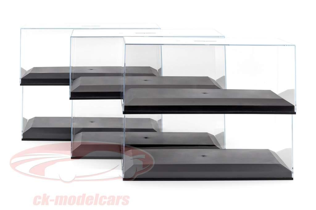 6 flessen Exclusive Cars Model vitrines voor 1:18