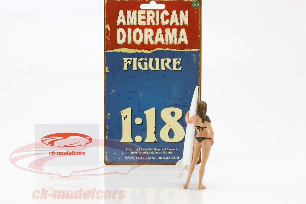 Surferin Casey Figur 1:18 American Diorama