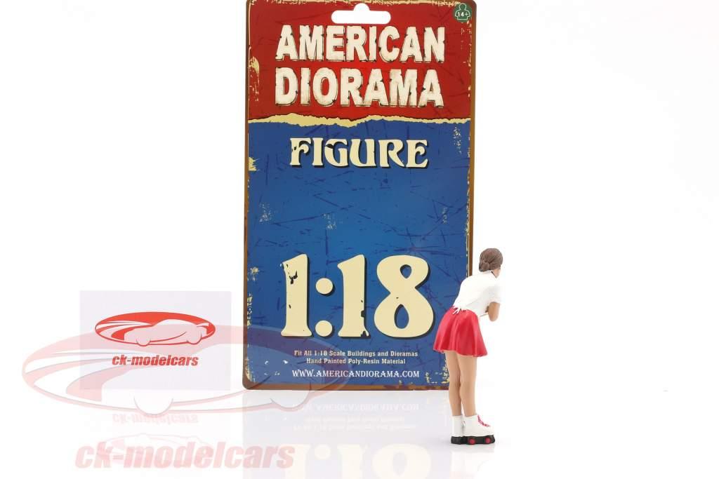 Drive-In Waitress Grace figure 1:18 American Diorama