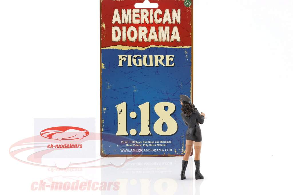 Costume Babe Brooke figure 1:18 American Diorama
