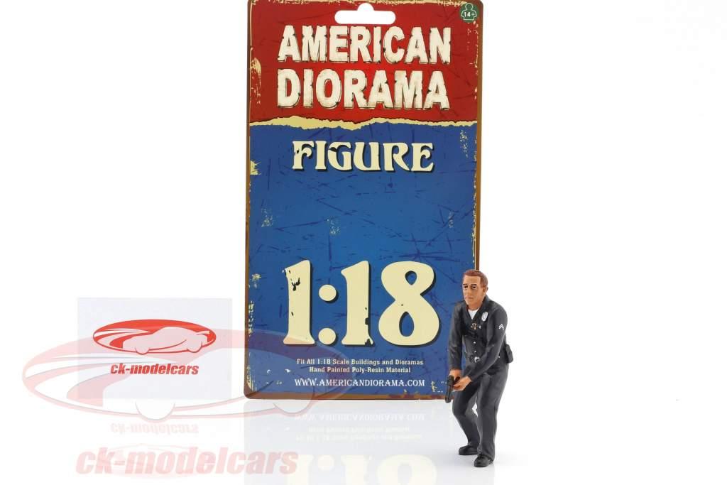 politica ufficiale III cifra 1:18 American Diorama