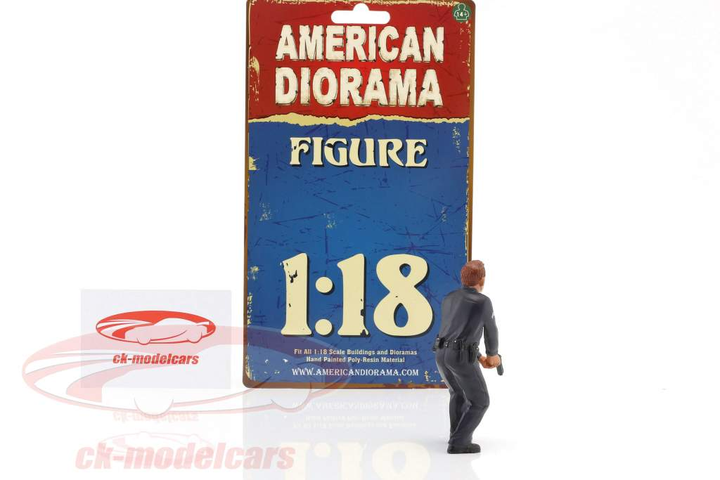 politique officier III figure 1:18 American Diorama