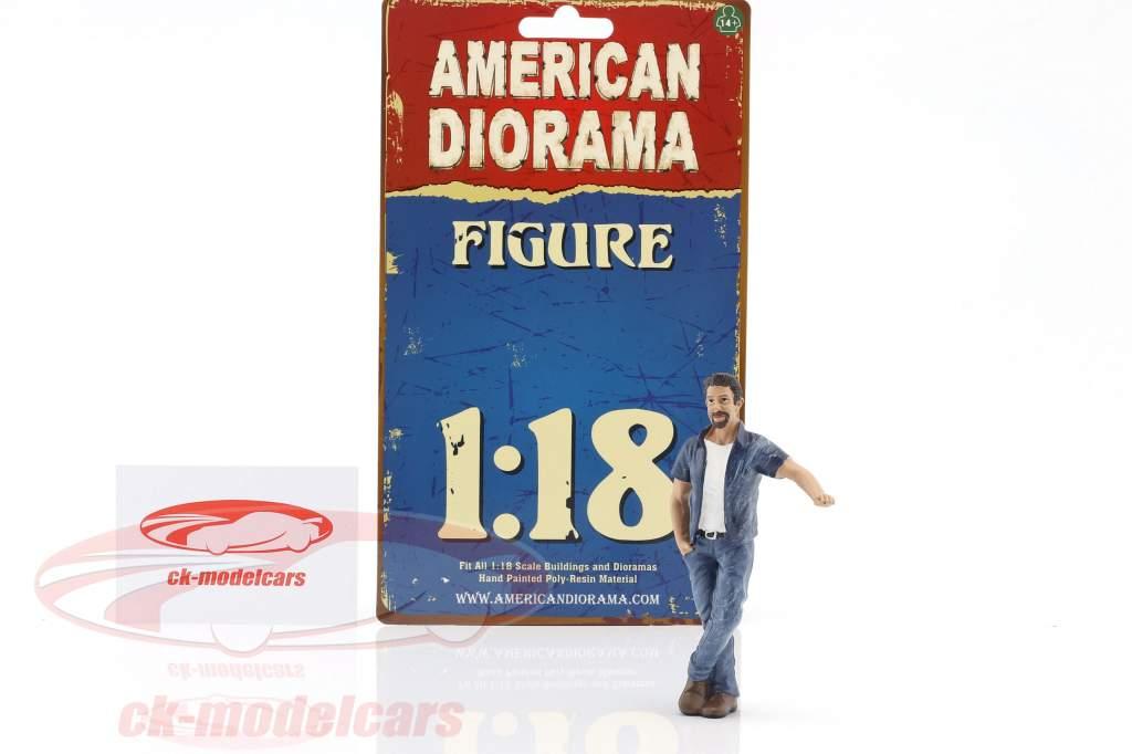 suspendu dehors Mark figure 1:18 American Diorama