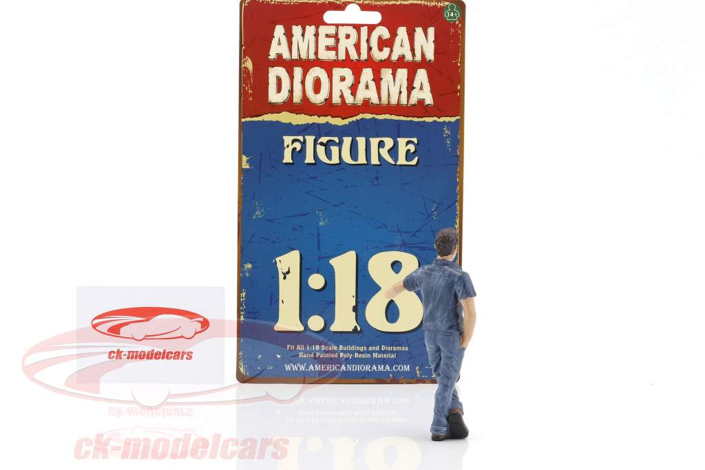 appeso fuori Mark cifra 1:18 American Diorama