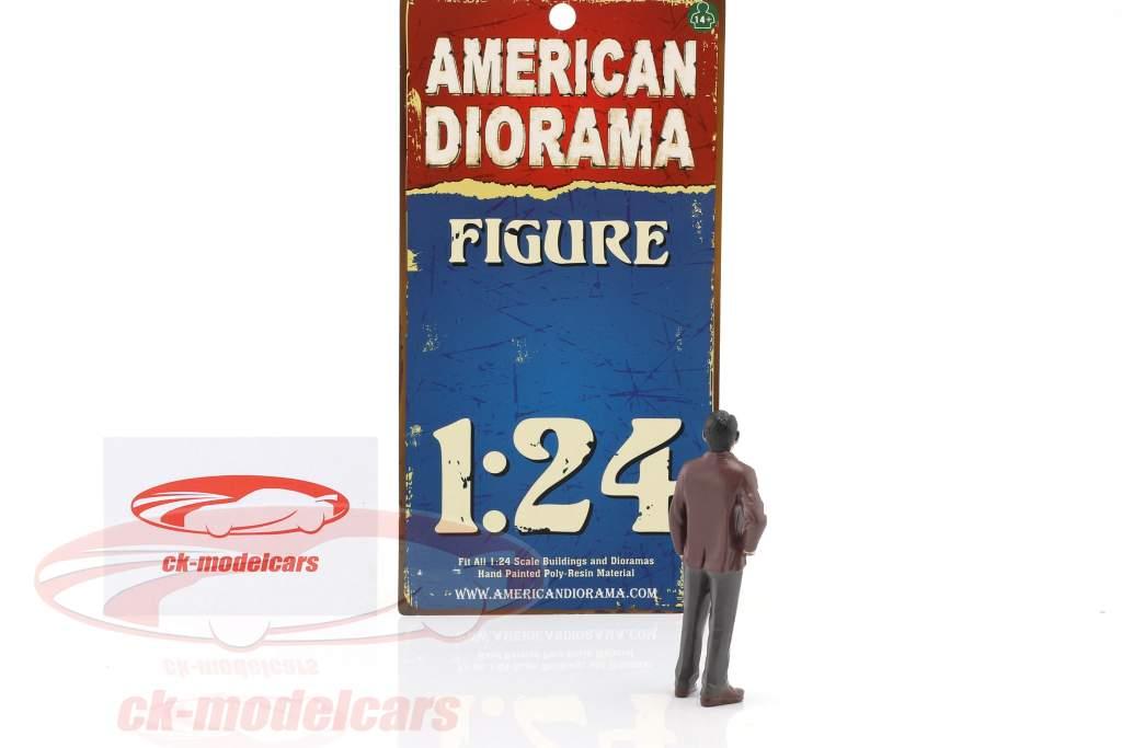 detective figure I 1:24 American Diorama