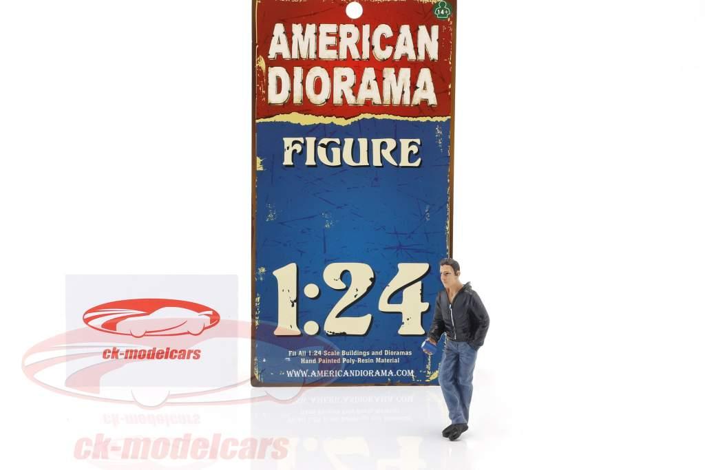appeso fuori James cifra 1:24 American Diorama