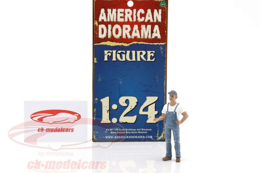 appeso fuori Bob cifra 1:24 American Diorama