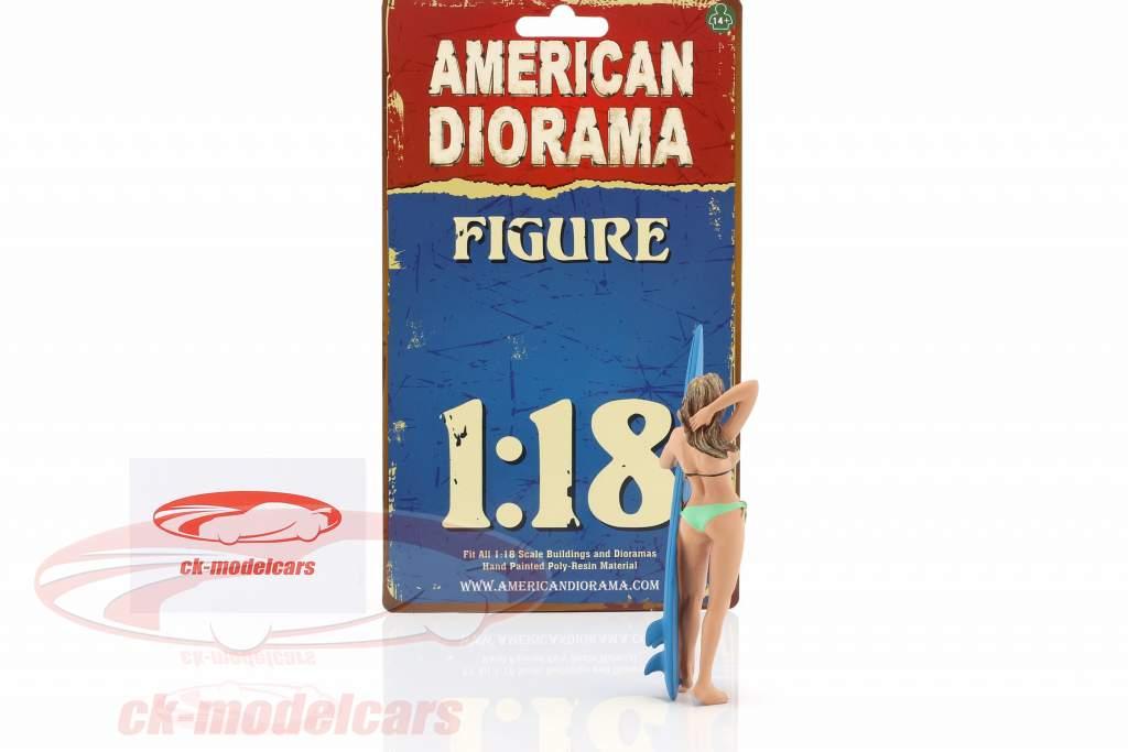 surfista Paris figura 1:18 American Diorama