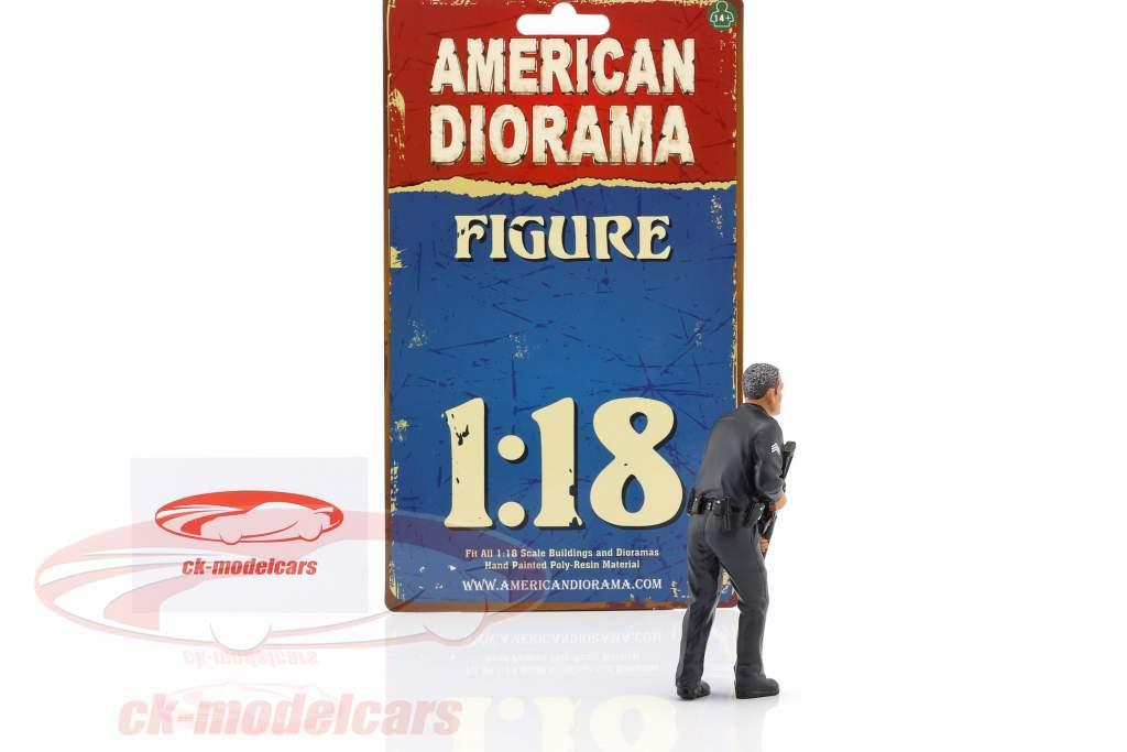 politik Officer II figur 1:18 American Diorama