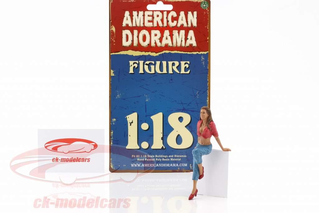 hængende ud Wendy figur 1:18 American Diorama