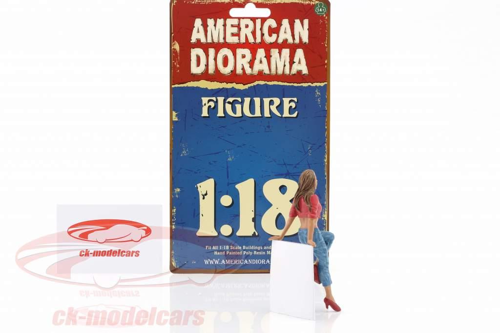 opknoping uit Wendy figuur 1:18 American Diorama