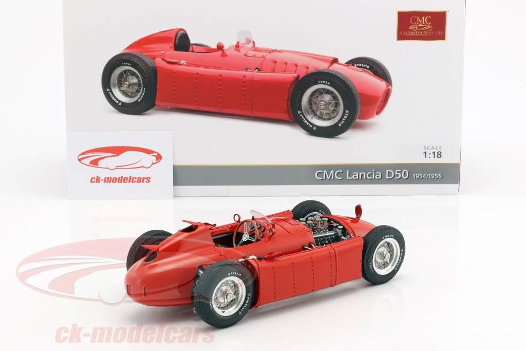 Lancia D50 Baujahr 1954-1955 rot 1:18 CMC