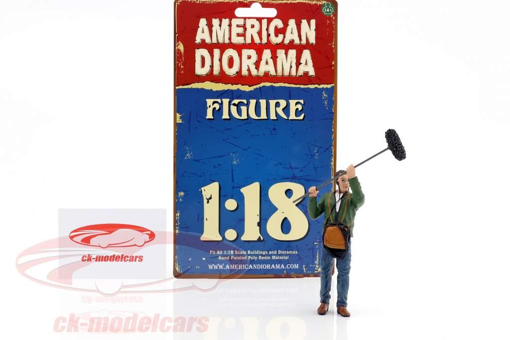 onderhouder figuur 1:18 American Diorama
