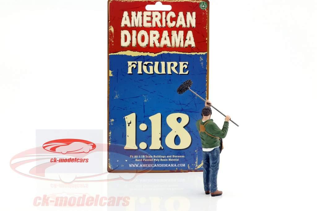sustainer figure 1:18 American Diorama