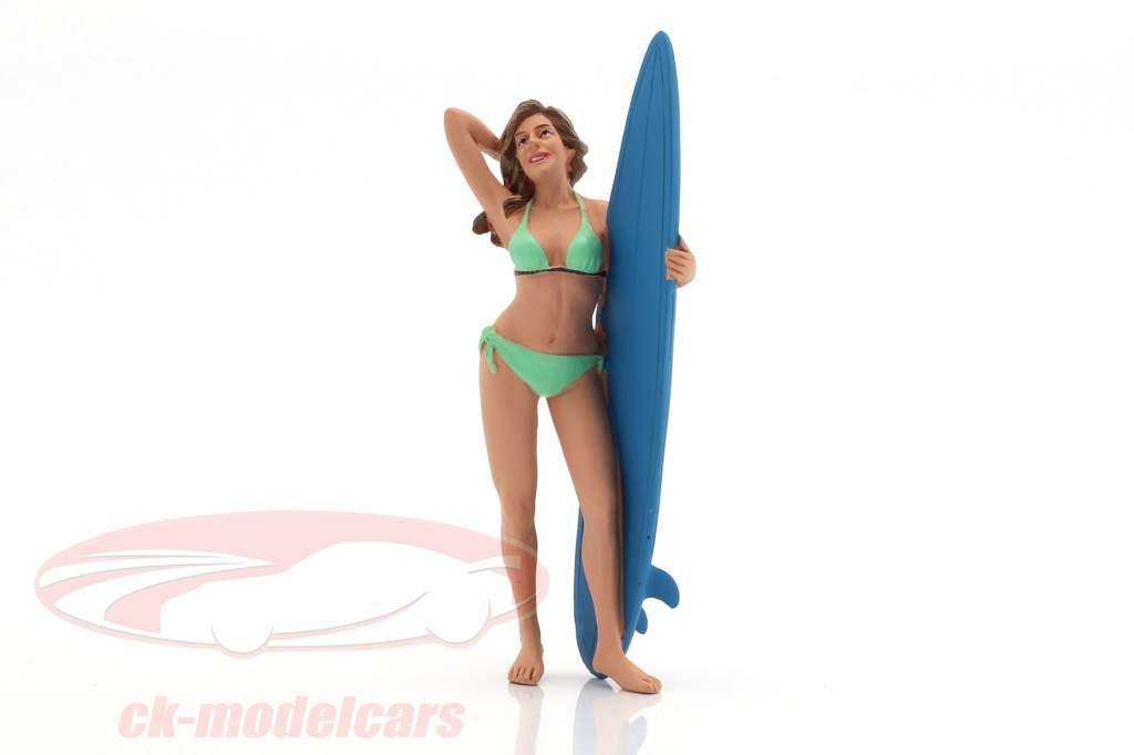 surfer Paris cifra 1:18 American Diorama