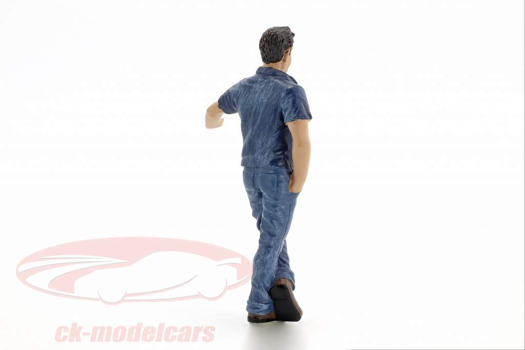 hængende ud Mark figur 1:18 American Diorama