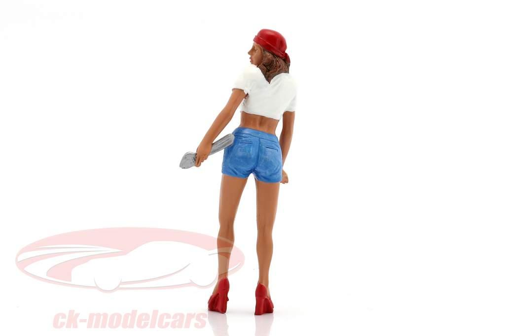 Mechanikerin Katie Figur 1:18 American Diorama