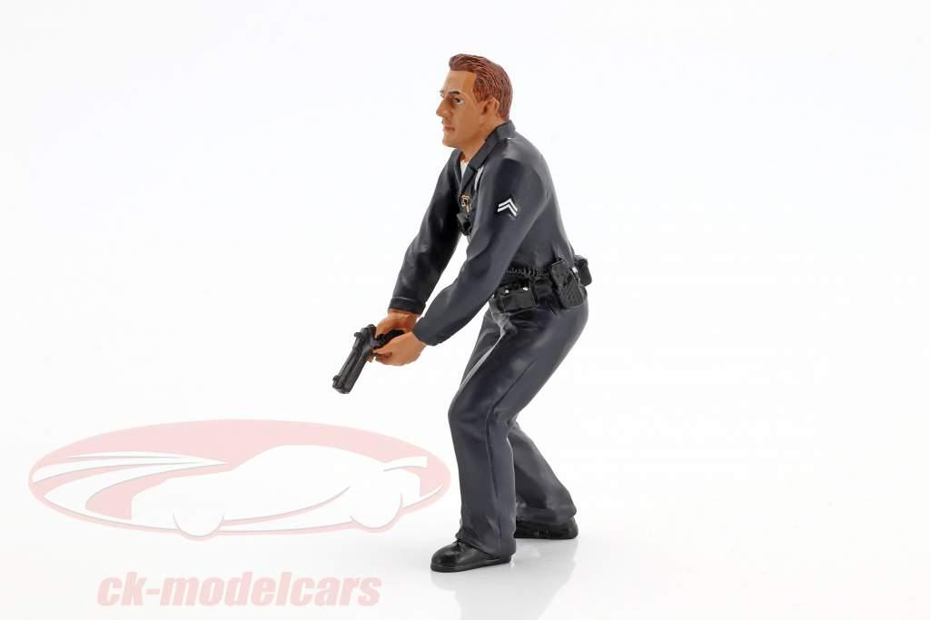 politiek officier III figuur 1:18 American Diorama