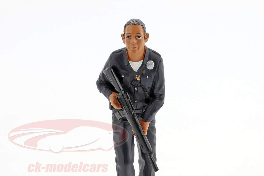 politique officier II figure 1:18 American Diorama