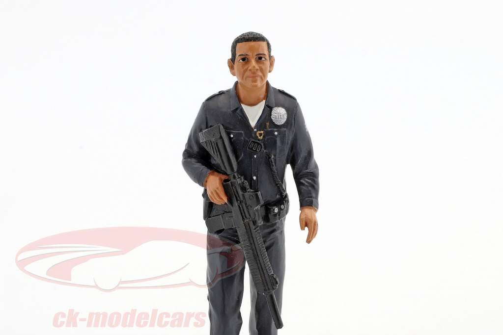 politique officier I figure 1:18 American Diorama